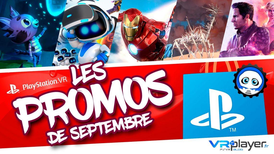 PlayStation VR - PSVR - Promos de septembre VR4Player