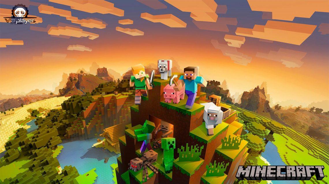 Minecraft VR PSVR PlayStation VR VR4Player