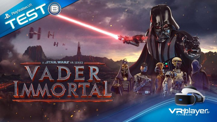 Vader Immortal TEST PSVR PlayStation VR VR4Player