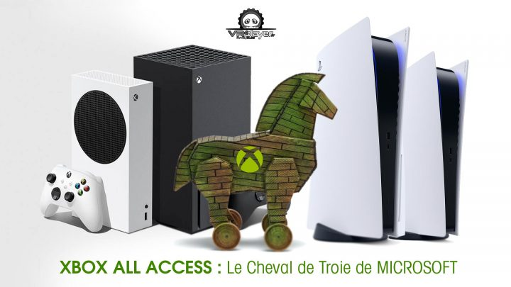 XBOX ALL ACCESS PlayStation 5, PS5 XBOX SERIES X dossier VR4PLayer