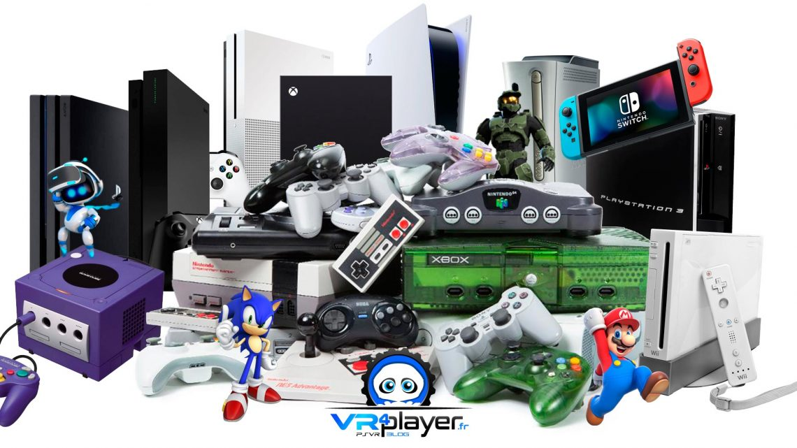 Nintendo, Sega, Sony PlayStation, Microsoft Xbox : La Guerre des consoles Dossier vidéo VR4Player