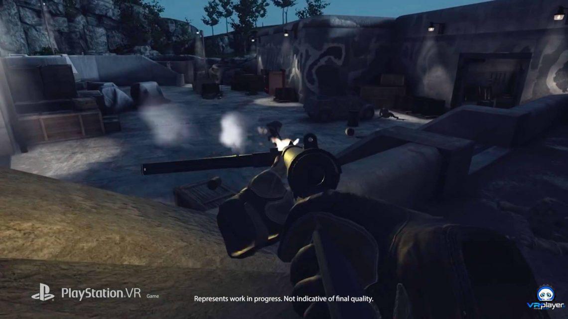 Sniper Elite VR sur PSVR