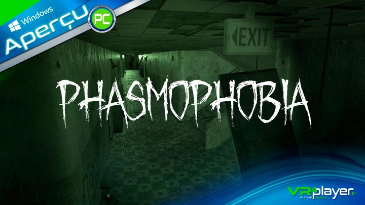 Phasmophobia PS STEAM Rift S Halloween VR4Player