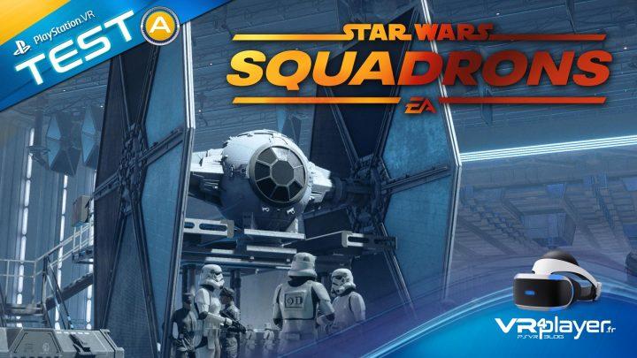 Test StarWars Squadrons PSVR PlayStation VR