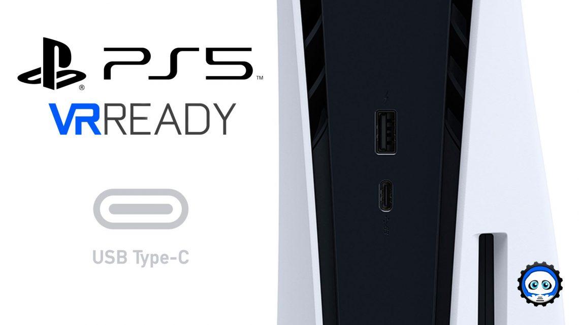 PS5 PlayStation 5 USB-C DisplayPort VR4Player