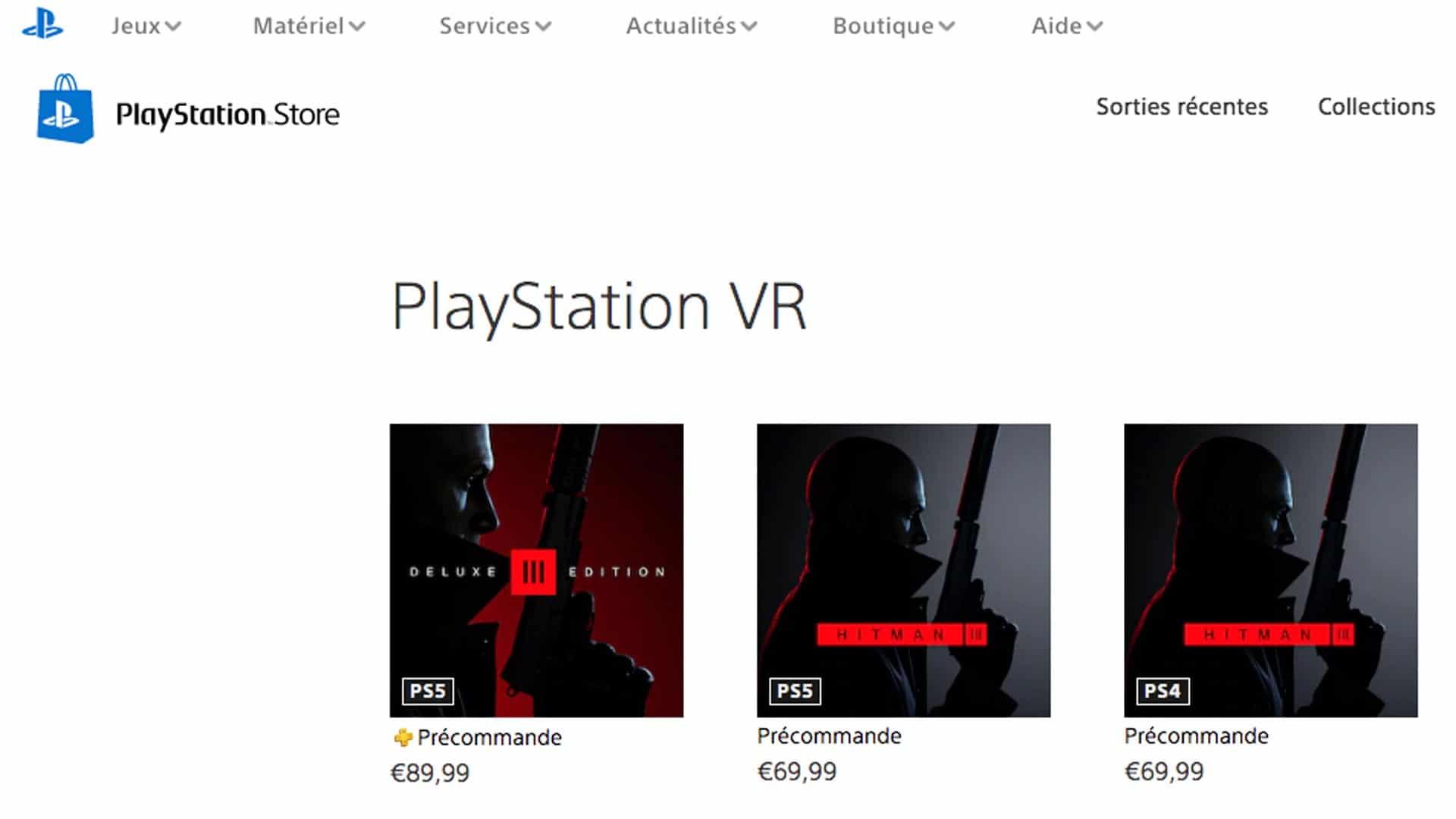 Hitman-3-compatible-PSVR-PS5-store - VR4player.fr