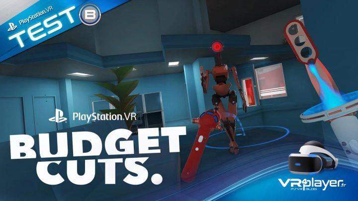 Budget Cuts ^SVR PlayStation VR TEST VR4player