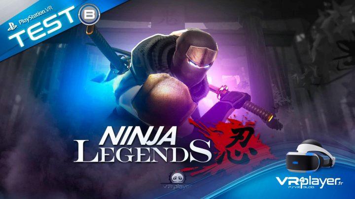 Ninja Legends - TEST PSVR