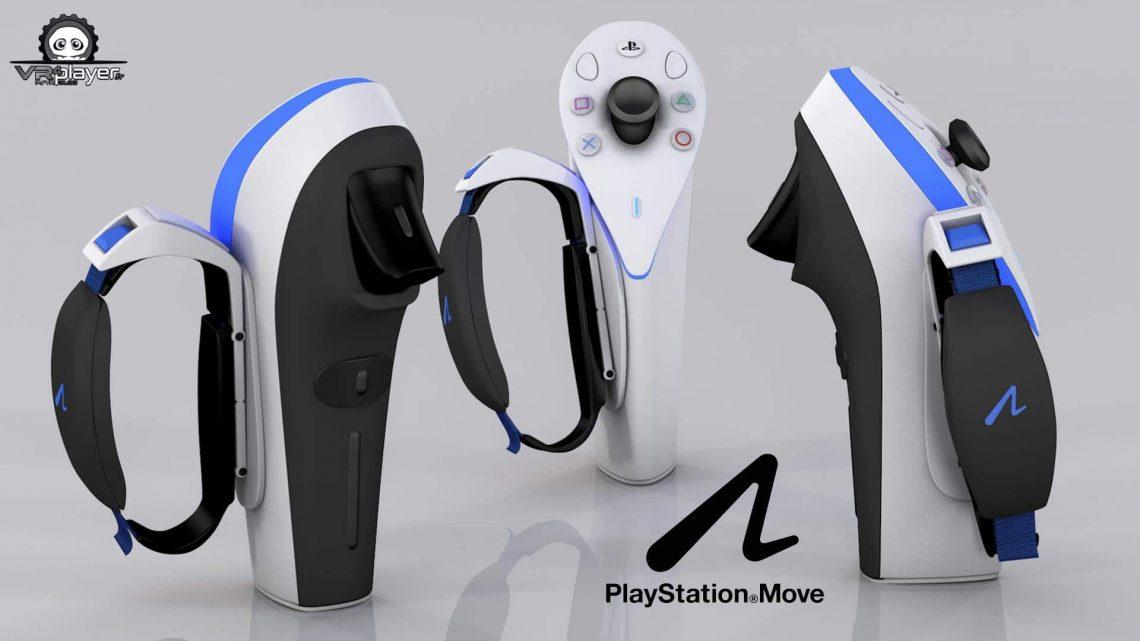 Brevet PS MOVE 2 VR4Player PSVR PlayStation VR