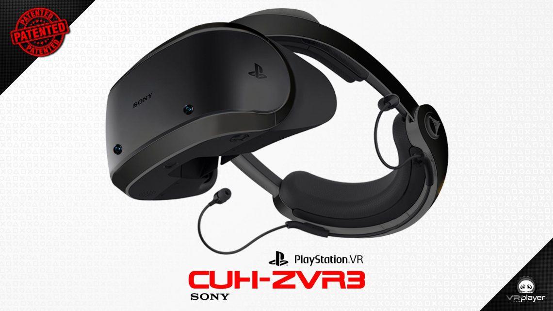 PSVR PlayStation VR CUH-ZVR3 Brevet VR4Player