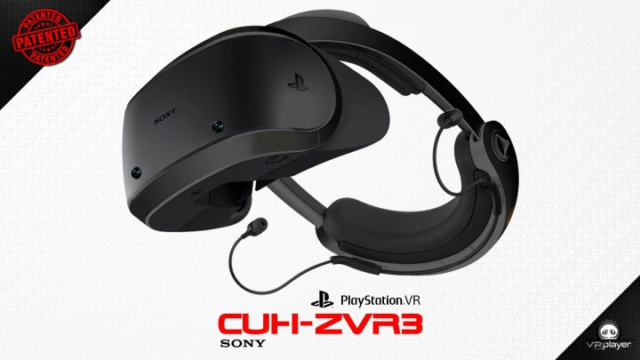 PSVR PlayStation VR CUH-ZVR3 Brevet VR4Player