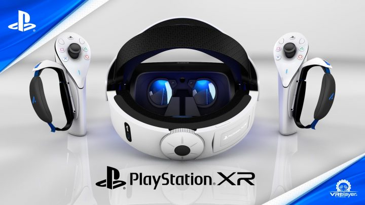 PSVR 2 PlayStation XR PSXR Sony Concept PSVR2 VR4Player