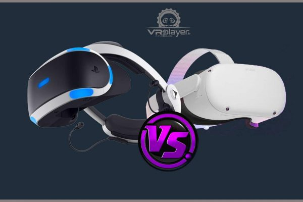 Quest 2 vs PSVR, comparatif en images