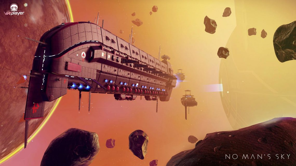 No Man's sky Next Generation PS5 PSVR PlayStation VR VR4player