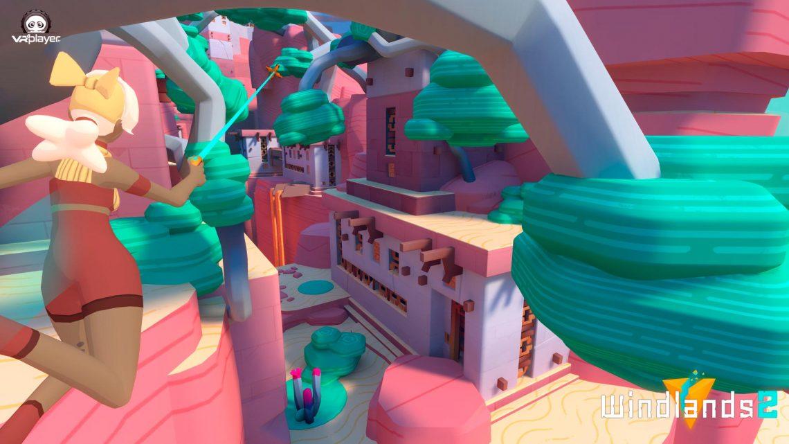 Windlands 2 Psytec Games PSVR PlayStation VR VR4Player