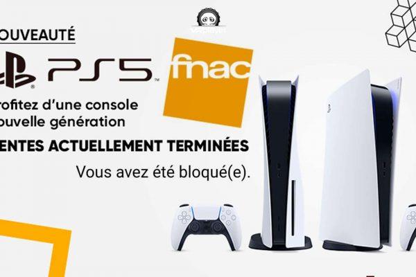 FNAC PS5 PlayStation 5