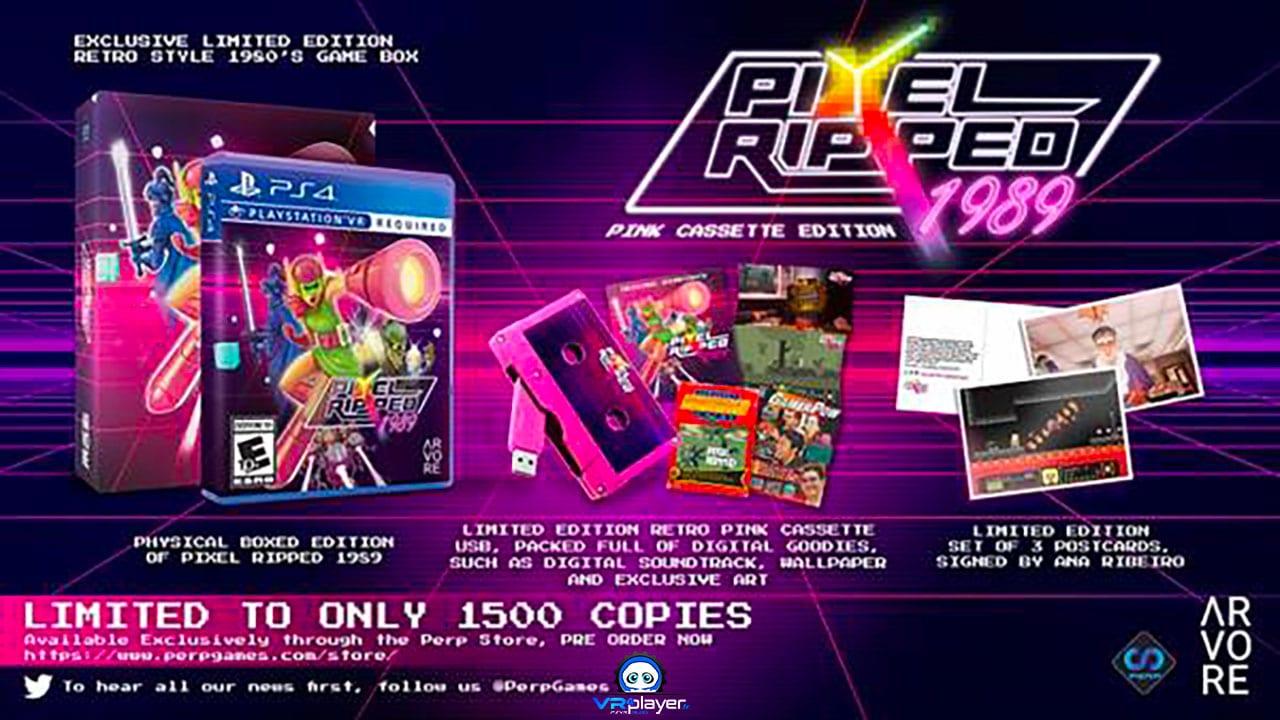 Pixel Ripped 1989 Pink Cassette Edition sur PSVR