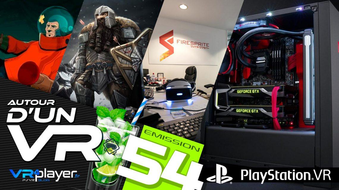 Podcast 54 Autour d'un VR VR4Player
