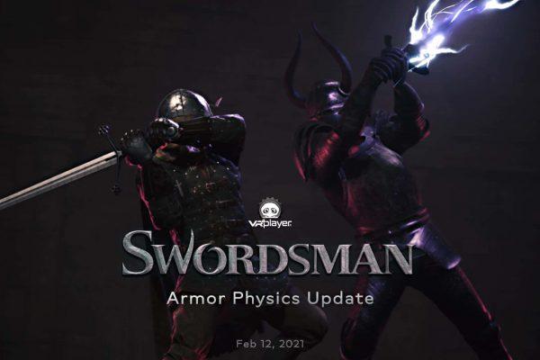SwordsMan VR Armor Physics Update PSVR PlayStation VR VR4Player
