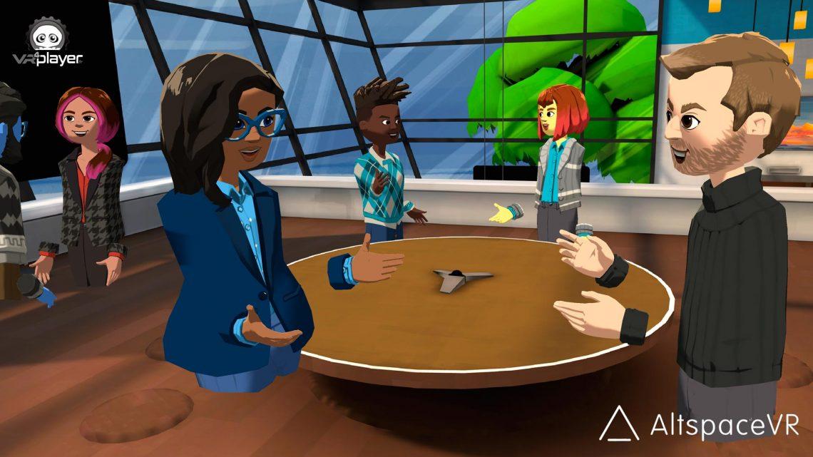 AltSpaceVR Microsoft VR facebook Oculus PSVR PlayStation VR