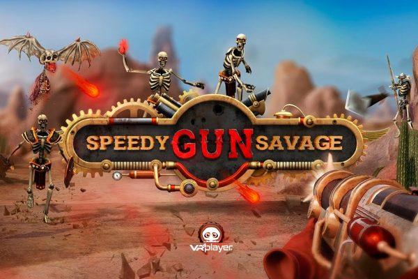Speedy Gun Savage PlayStation VR PSVR VR4Player
