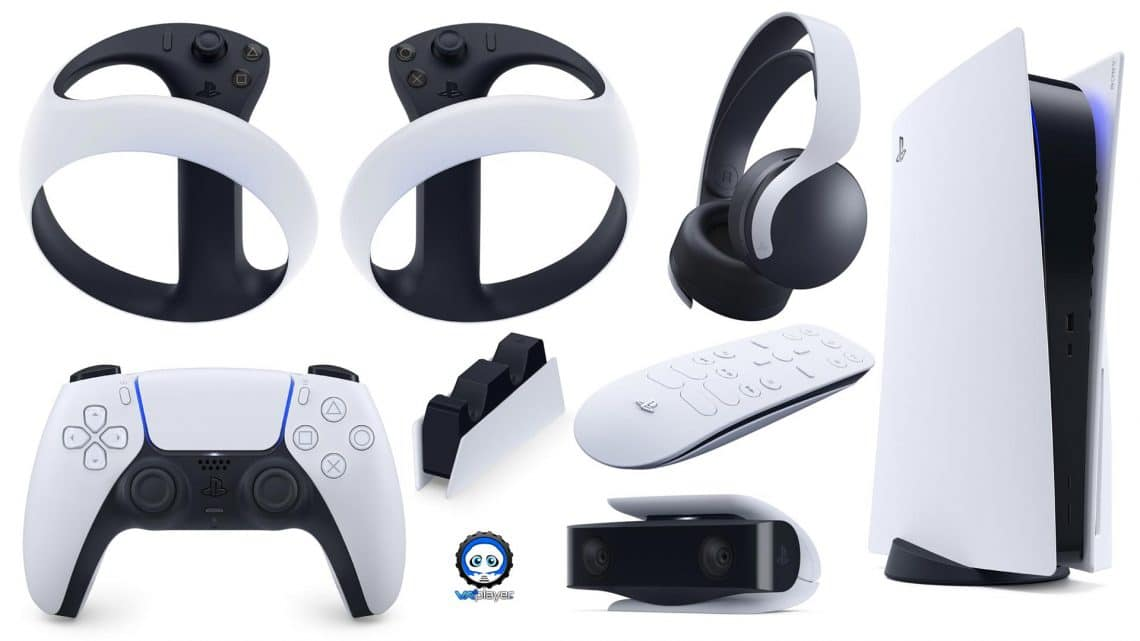 PS MOVE 2 PS5 Controller VR VR4Player