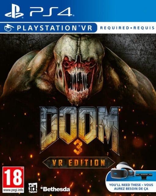 Doom 3 boite PSVR PlayStation VR VR4player