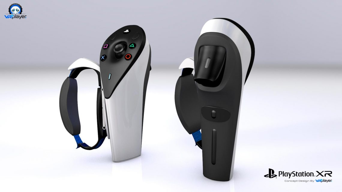COncept Design PS Move PS5 Dualsense PSVR2 PlayStation VR 2 VR4Player