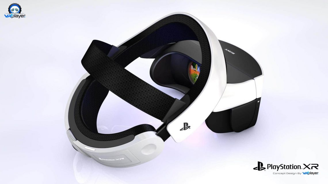 Concept Desig PS5 PSVR2 PlayStation VR 2 VR4Player