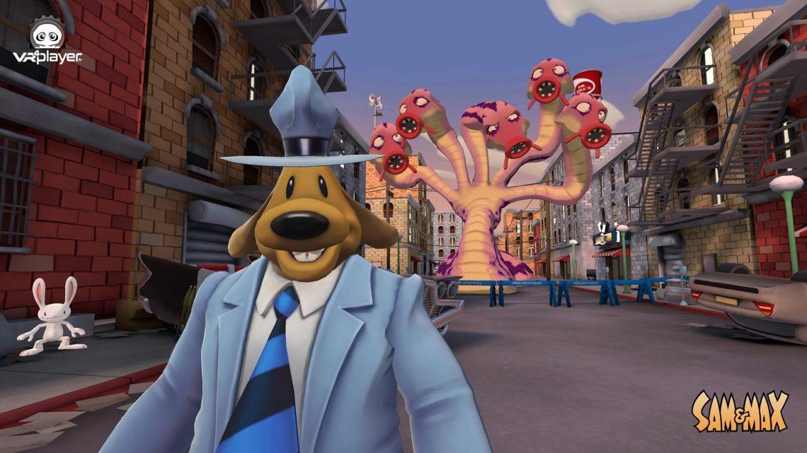 SAM & MAX SAM&MAX This Time it's Virtual PSVR PlayStation VR VR4Player