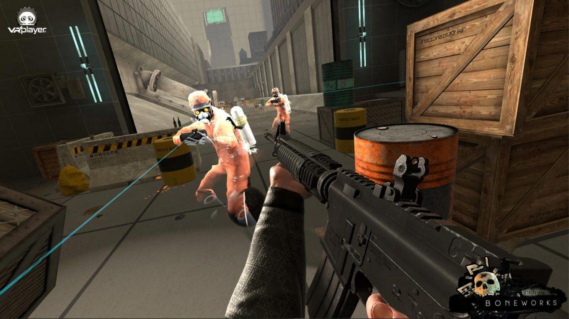 BoneWorks VR Stress Level Zero PSVR2 PS5 PlayStation VR PSVR VR4Player
