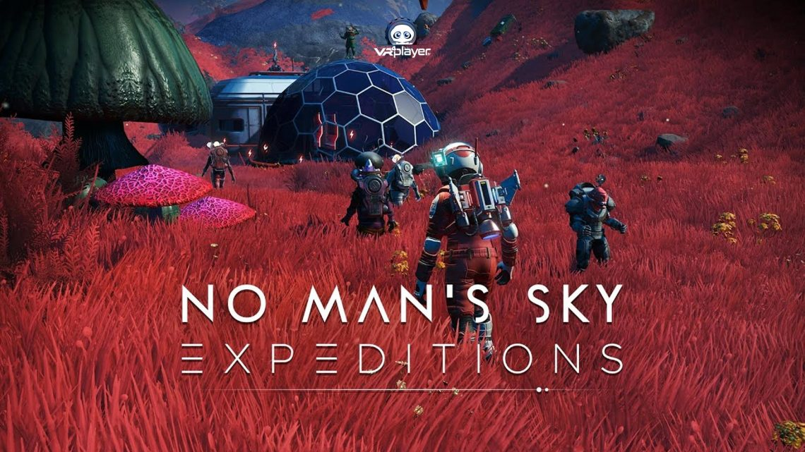 No Mans Sky Expeditions PSVR PS5 PS4 PlayStation VR VR4Player