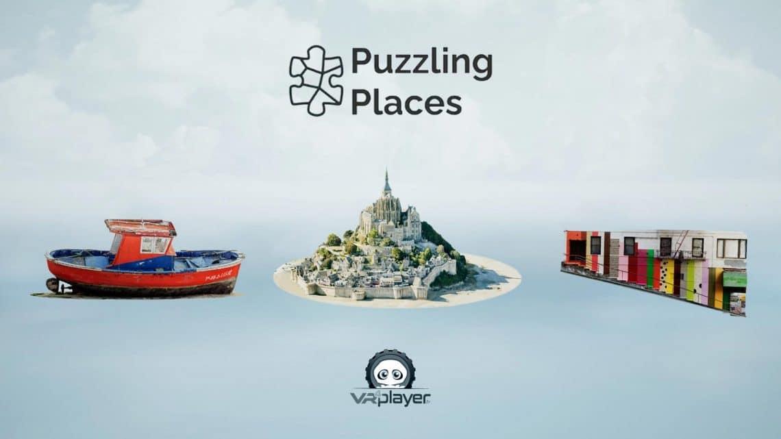 Puzzling Places PSVR PlayStation VR VR4Player