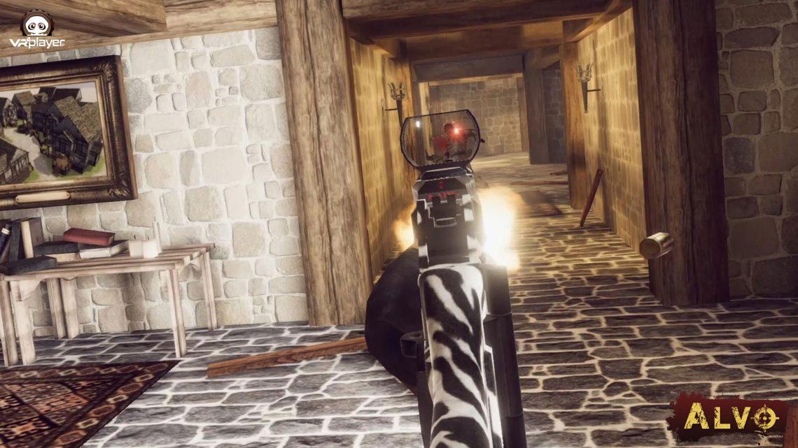 ALVO FPS Multijoueurs PSVR PSVR2 PS4 PS5 VR4player PlayStation VR