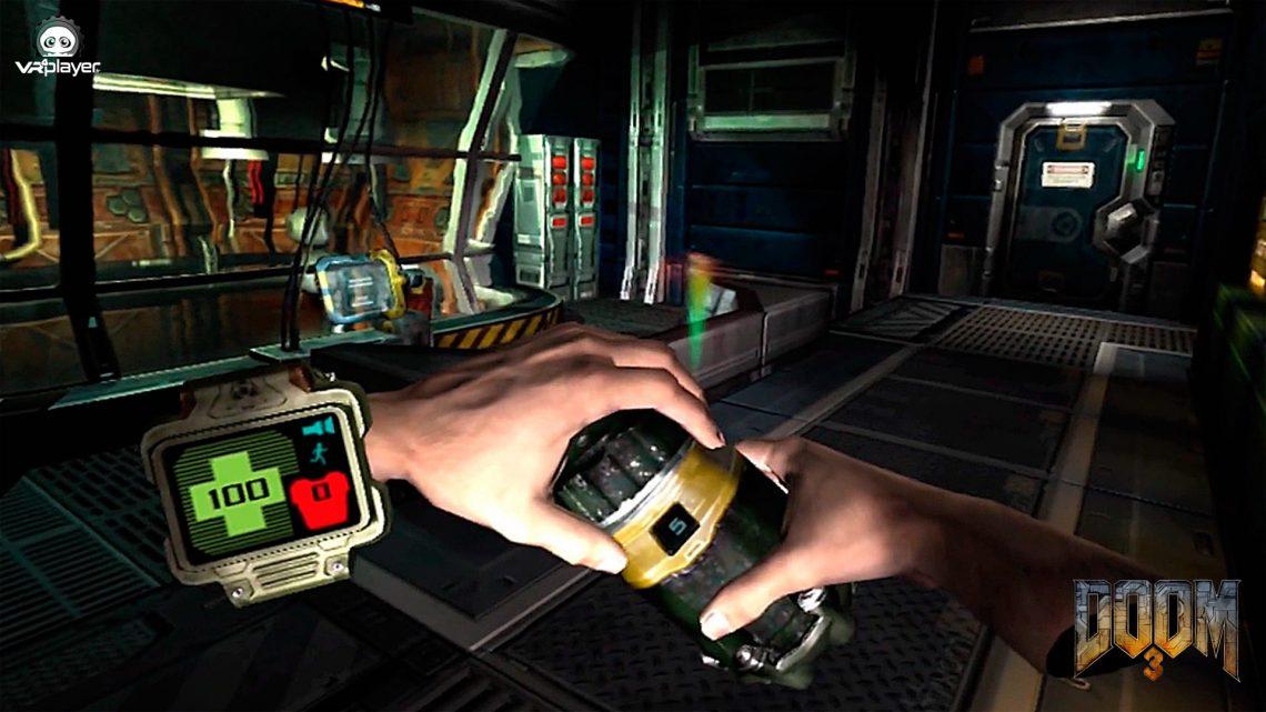 DOOM 3 VR PLAYSTATION VR PSVR SONY VR4player