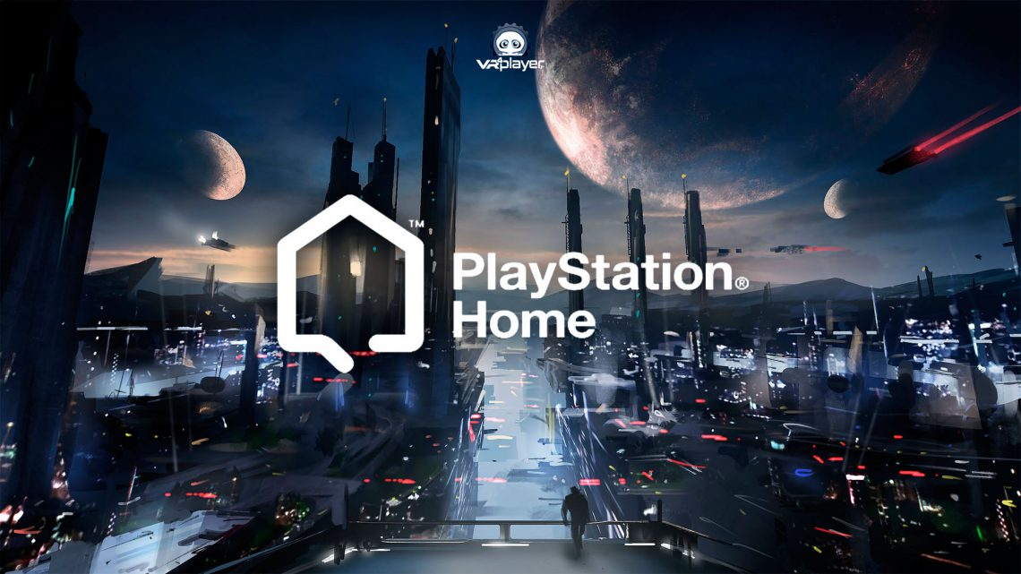 PlayStation Home PlayStation VR PSVR PSVR2 Sony
