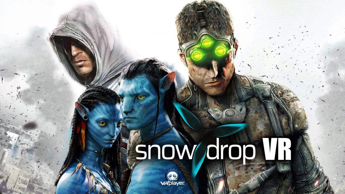 Ubisoft SnowDrop VR Avatar Assasin's Creed Splinter Cell VR4Player PSVR