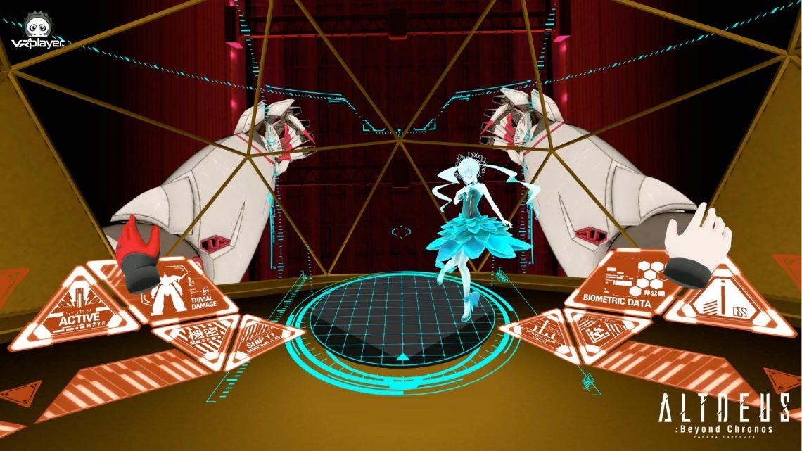 ALTDEUS Beyond Chronos Test Review PSVR PlayStation VR VR4Player