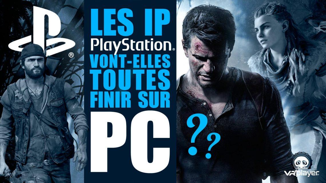 Exclusivités PlayStation PSVR PC Steam Sony Microsoft