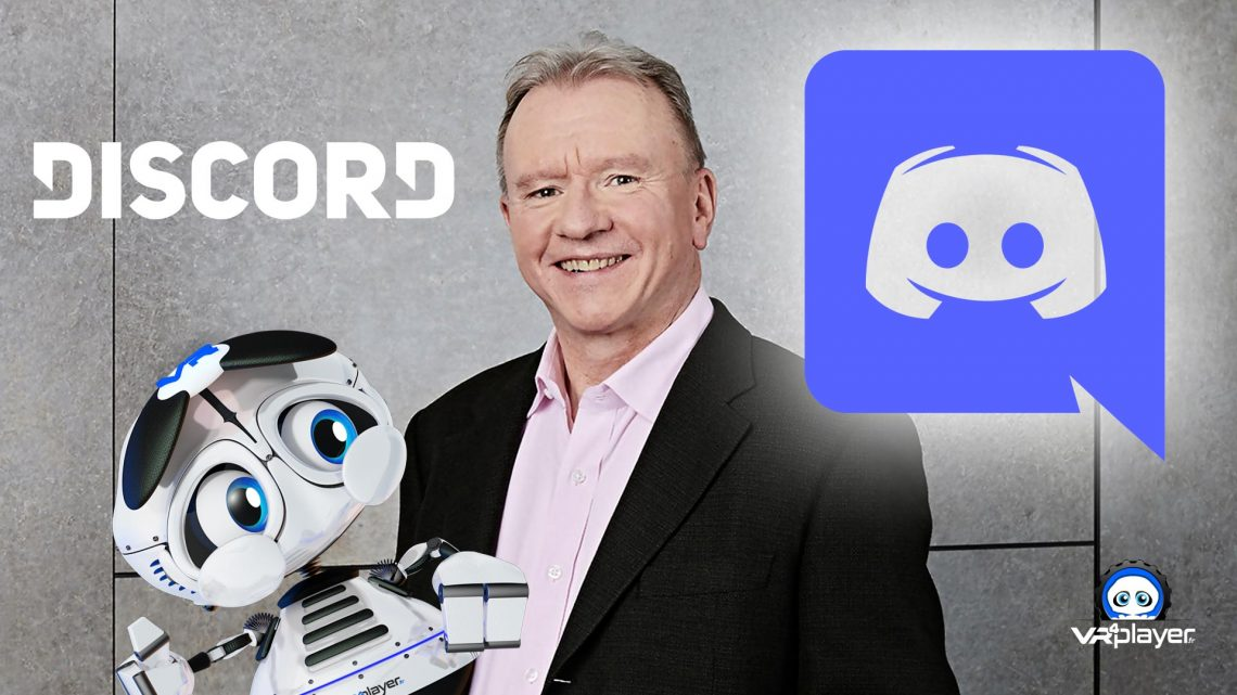 Discord PlayStation Partenariat Sony VR4Player