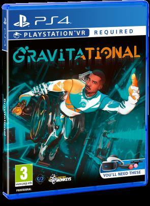 sorties en physique du mois de juillet Gravitational Studica Solution PSVR PS4 Playstation VR Perp Games Electric Monkeys