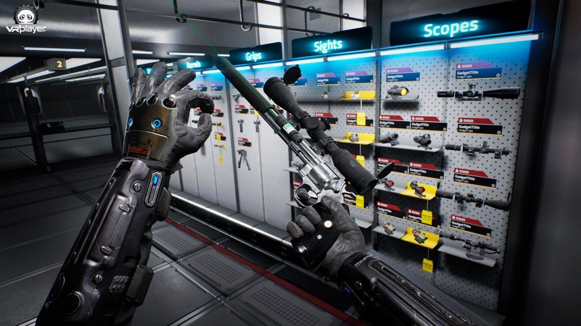 Zero Caliber Xrealm Games PSVR PlayStation VR VR4Player