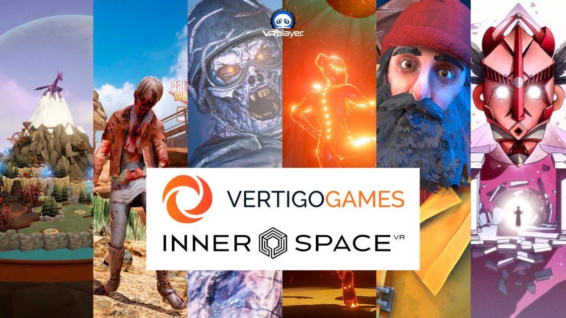 Vertigo games Innerspace VR VR4Player partenariat