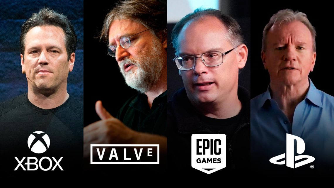 Valve Steam Sony PlayStation Xbox & Epic Games