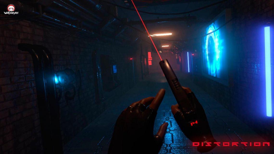 DISTORTION VR PSVR PlayStation VR Réalité Virtuelle VR4PLAYER