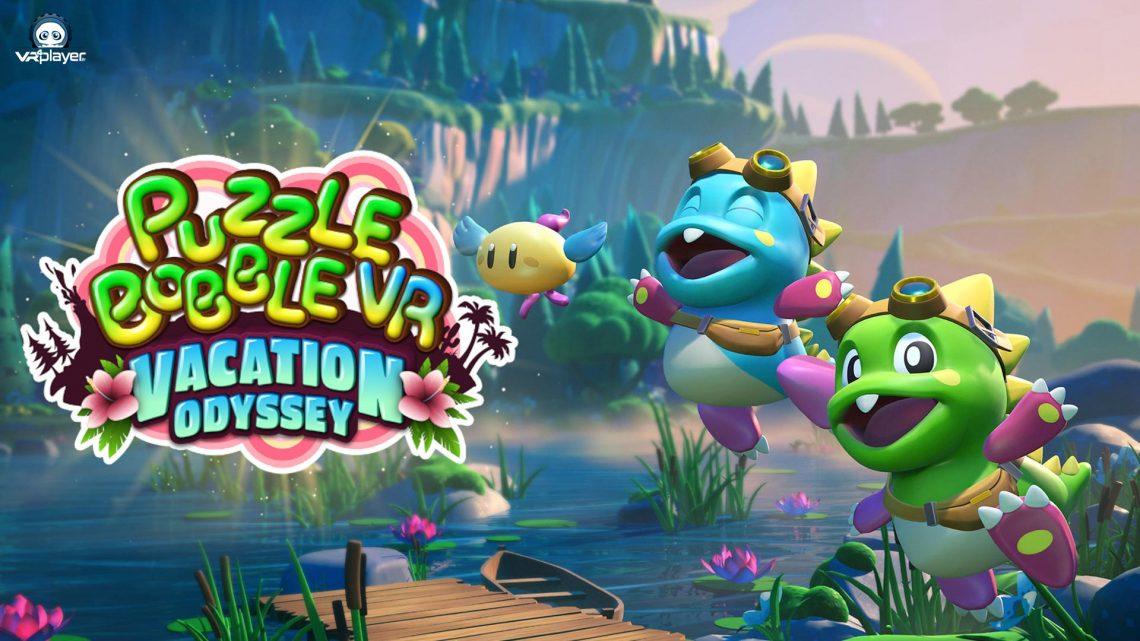 Puzzle Bobble 3D Vacation Odyssey SURVIOS PSVR PlayStation VR VR4Player