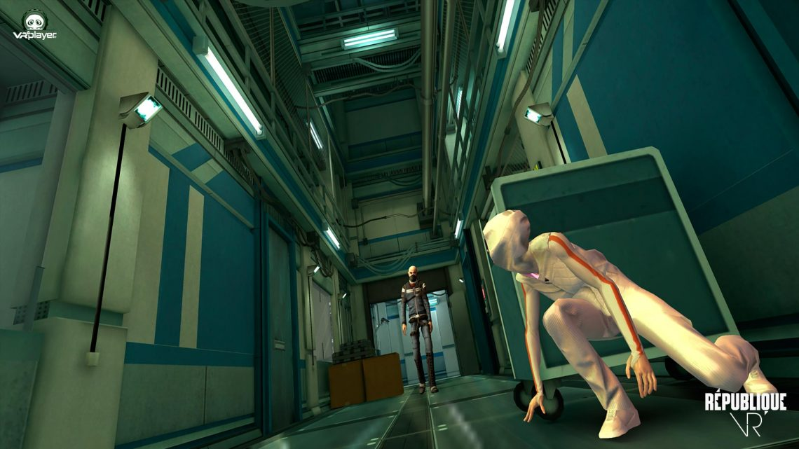 République VR Camouflag PSVR PlayStation VR VR4Player