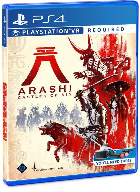 ARASHI Castles of Sin PLAYSTATION VR PSVR PS4 Playstation 4 Endeavor One Perp Games