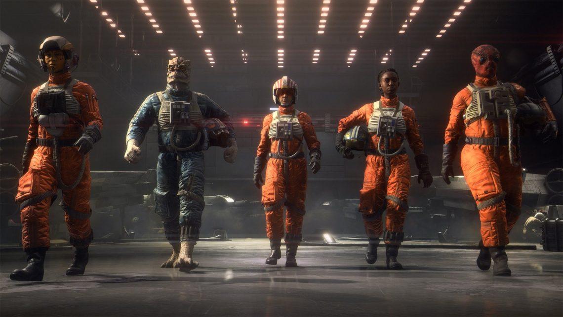 Star Wars Squadrons Motive Studios Electronic Arts PSVR VR4Player PS4 Playstation VR