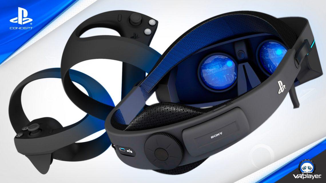 PSVR 2 PlayStation VR 2 Concept SONY VR4Player